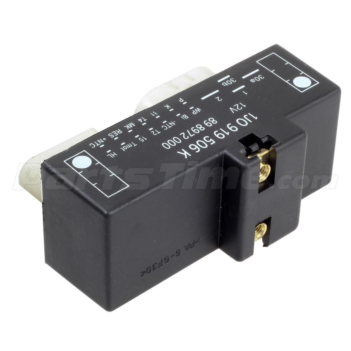 new cooling fan control unit module relay 1j0919506k for. Black Bedroom Furniture Sets. Home Design Ideas