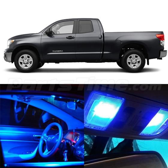 10x Blue Interior Led Lights Replacement Package Kit Fit: 10x Blue LED Lights Interior Package For Toyota Tundra
