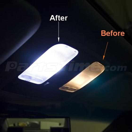 Acura Tl 2008 For Sale: 11x Interior Lights Package White LED Bulbs For 2004-2008