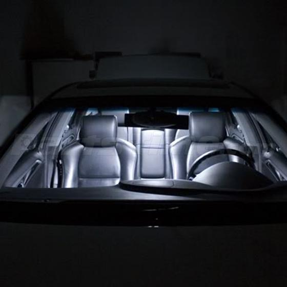 11x Interior Lights Package White LED Bulbs For 2004-2008