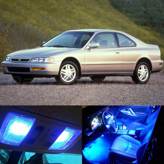 Ultra Blue LED Interior Package Kit For 1994-1997 Honda