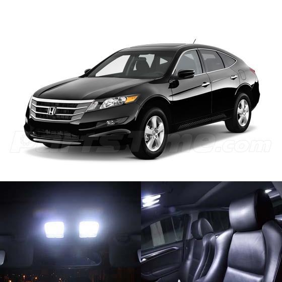 9x White LED Light Interior Bulb Package For Honda