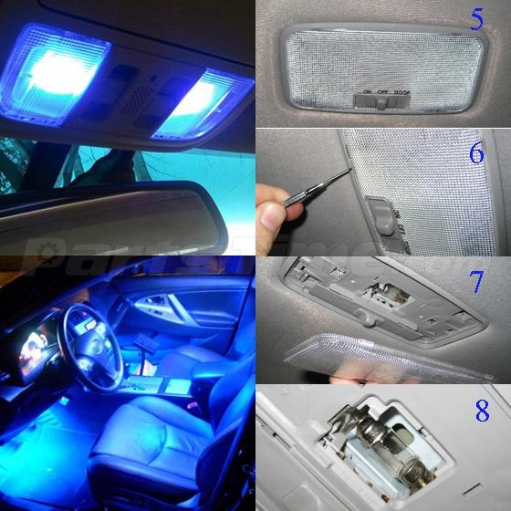7x Blue Map Dome License Plate Led Light For Dodge Ram 1500 2009 2015 Ebay