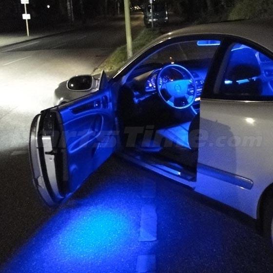 13 blue led lights interior package for 2007 2012 nissan. Black Bedroom Furniture Sets. Home Design Ideas