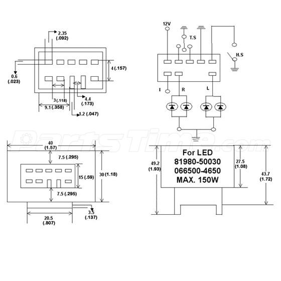 105 signal stat flasher wiring diagram