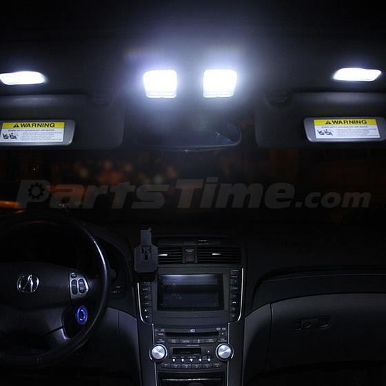 Used Acura Rdx: 7x Interior Lights Package White LED Bulbs For Acura RDX