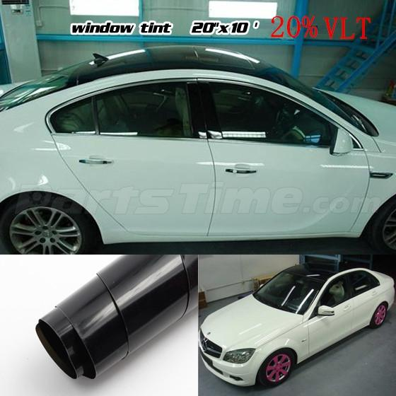 20 x 10ft roll limo shade car window tint film auto uncut for 20 car window tint