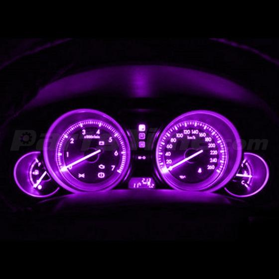20x Bright Pink Purple Instrument Panel Cluster Speedo