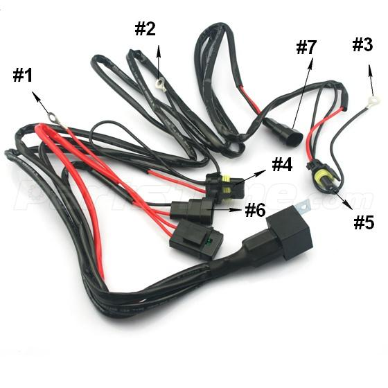 chrysler sebring wiring harness headlights chrysler 1x xenon hid conversion relay harness wire kit for headlight 9145 on chrysler sebring wiring harness