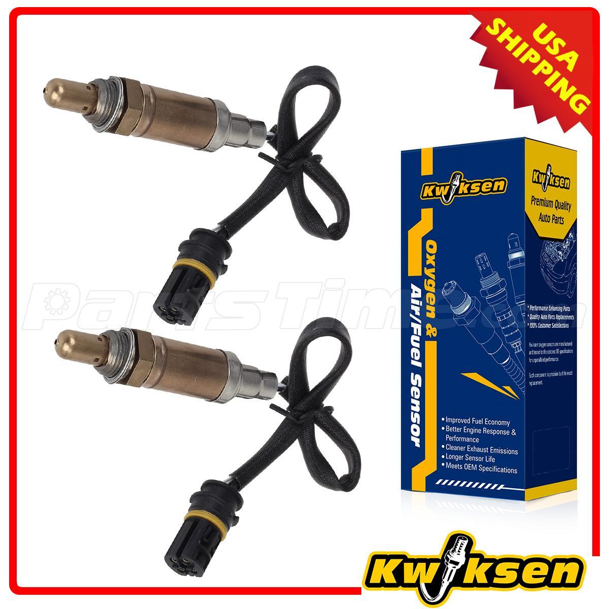 Pair Oxygen Sensor Set 234 4672 Upstream For Bmw E46 E39 E38 E31 M54 E38 X5 Z3 Ebay