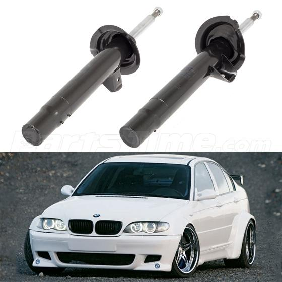 Front Pair Shocks Struts For BMW 3 SERIES 334945 334946