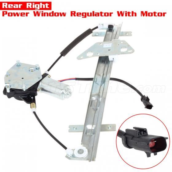 Rear power window regulator w motor right side rh for for 2000 dodge durango window regulator