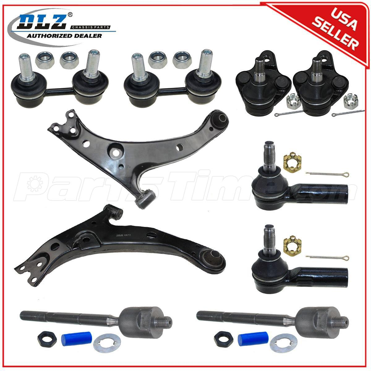 10 Piece Suspension Set For 1996-2002 TOYOTA COROLLA