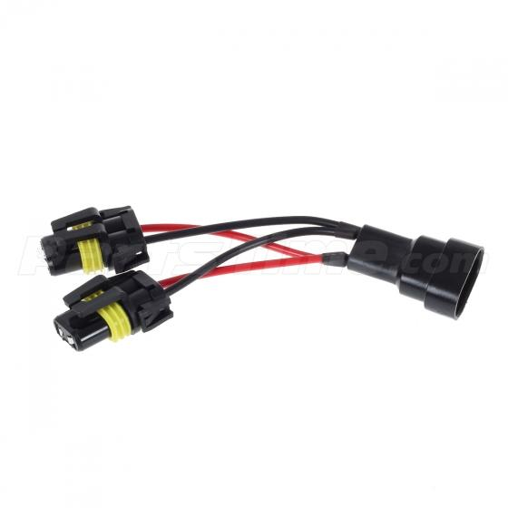 set 2 9005 9006 pre wired wiring harness connector socket for car set 2 9005 9006 pre wired wiring harness connector socket for car headlight lamp