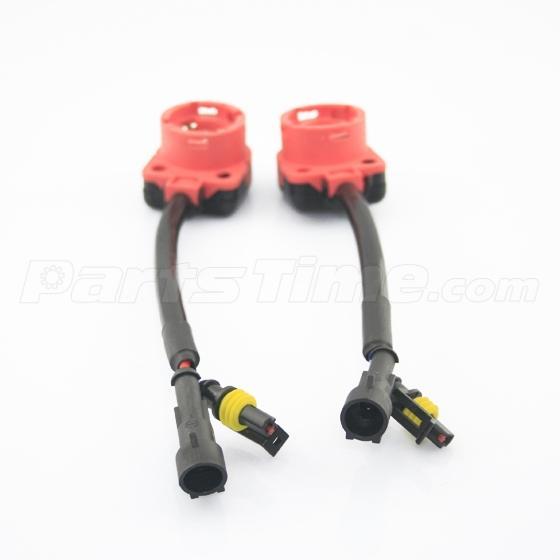 2x xenon hid bulb d2s d2r d2c headlight wire harness extension Http://who.img.gaatu.com/126666-1.jpg