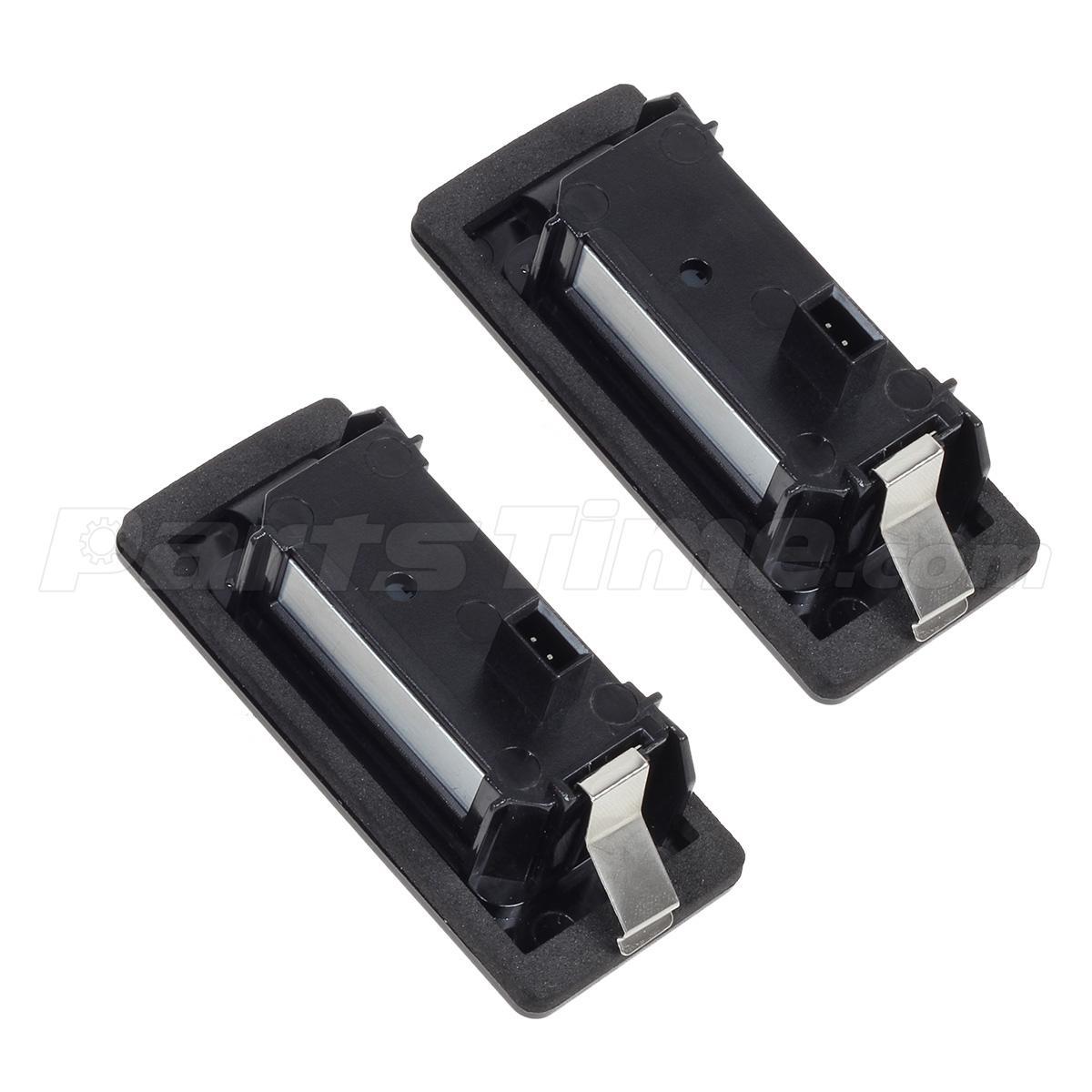 2) Error Free LED License Plate Light Kit For Audi A4 S4