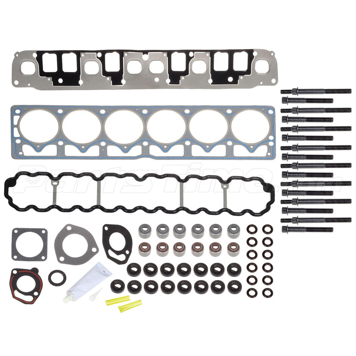 Cylinder Head Gasket Set Head Bolts Fits 1999-2003 JEEP
