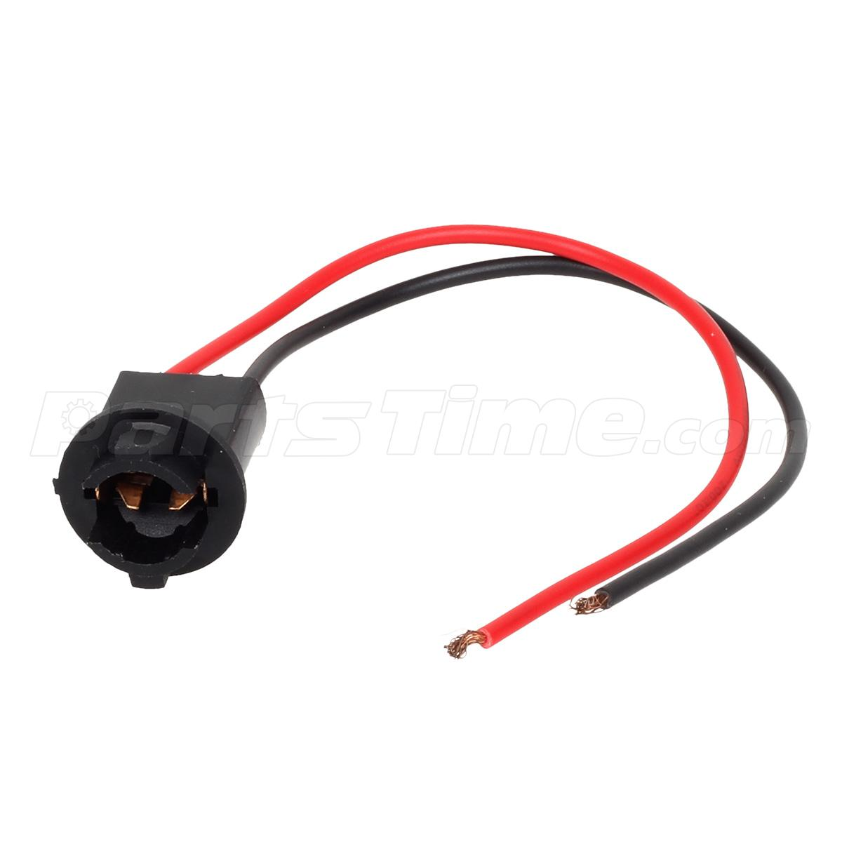 10xt10 w5w led socket extension connector wire harness. Black Bedroom Furniture Sets. Home Design Ideas