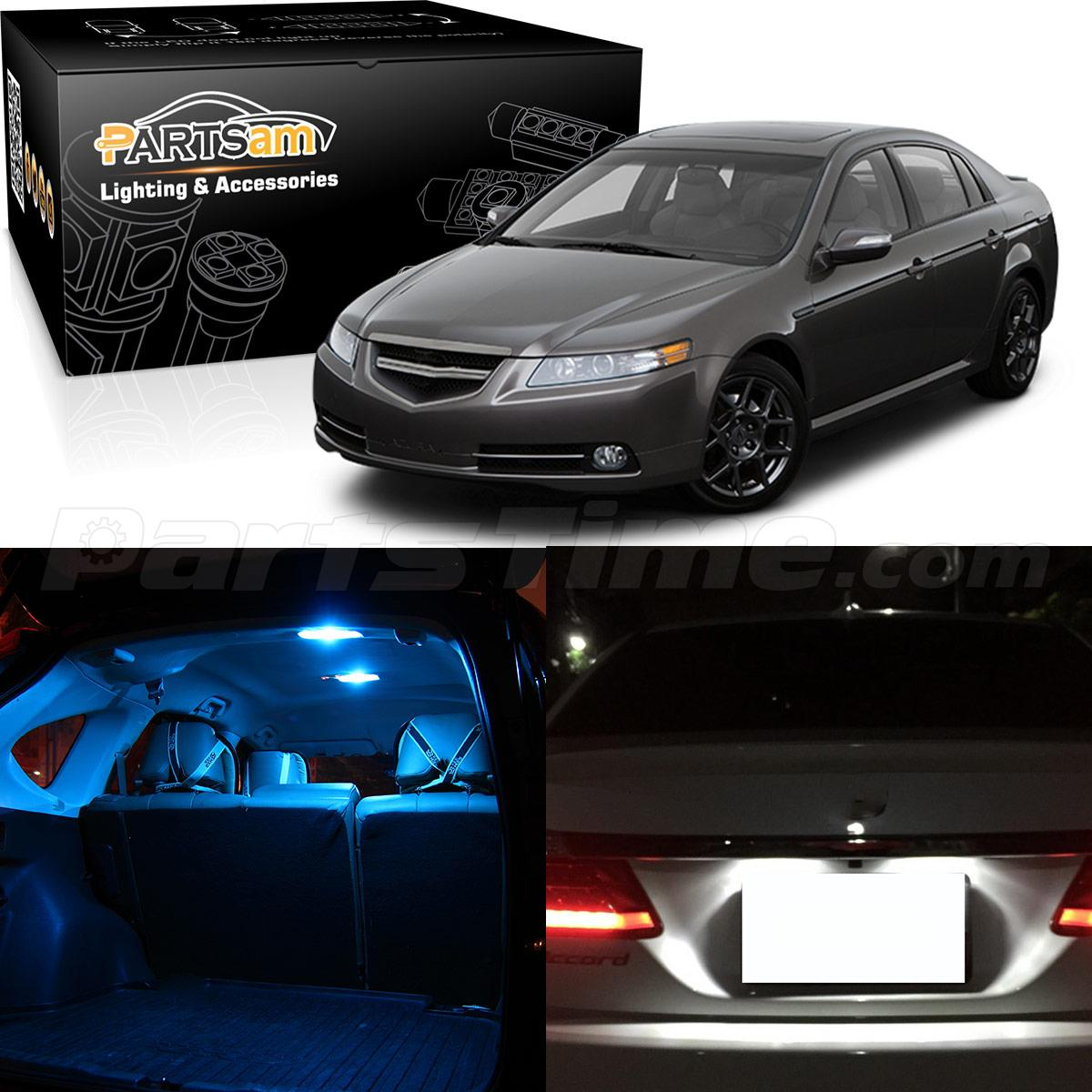 12x usa ice blue led package kit bulb car interior lights for 2004 2008 acura tl ebay 2004 acura tl led interior lights